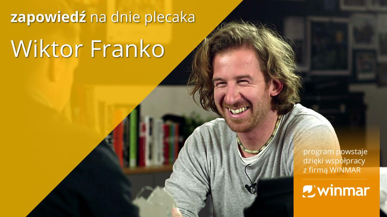 Na dnie plecaka – Wiktor Franko / ZAPOWIEDŹ